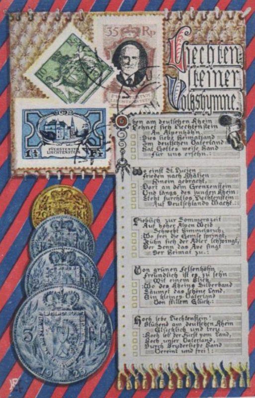 Münzen / Geld... -scheine - schöne alte Karte ....   (ka5399  ) siehe scan
