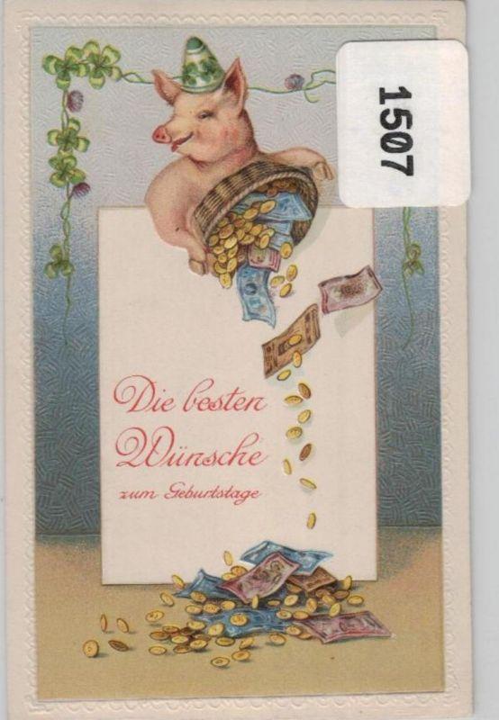 Münzen / Geld... -scheine - schöne alte Karte ....   (ka5401  ) siehe scan