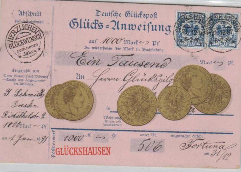 Motiv-Münzen/Geld  - schöne alte Karte ....   (ka5427  ) siehe scan