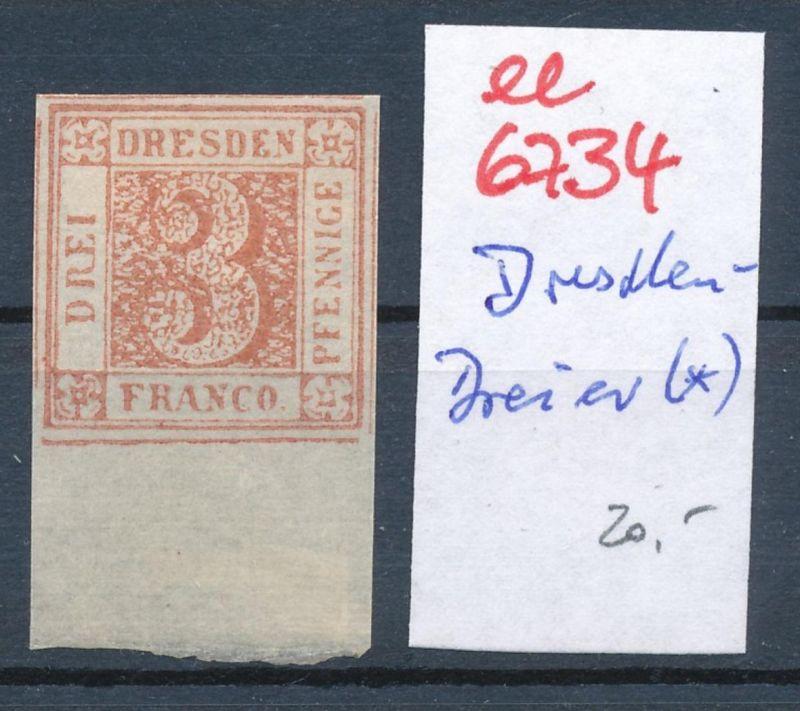 Sachsen -Dresden 3er (*)    (ee6734  ) siehe scan