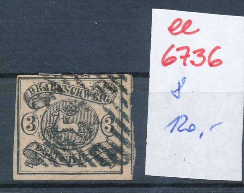 Braunschweig Nr. 8   o   (ee6736  ) siehe scan