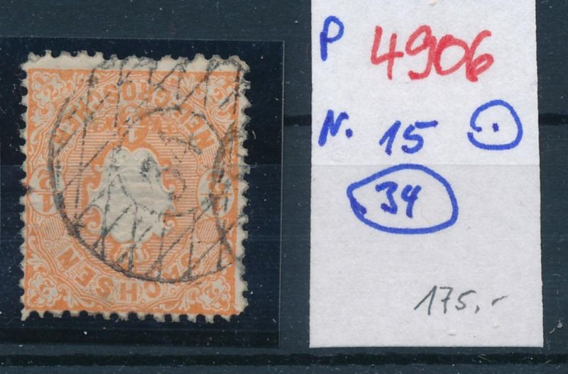 Sachsen Nr. 15 Stempel 34    (p4906  ) siehe scan