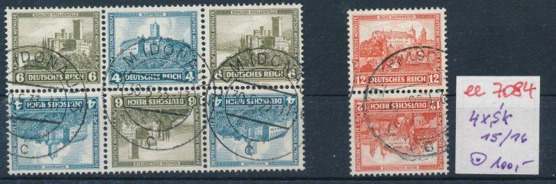 D.-Reich Nr.  4x sk    o    (ee7084  ) siehe scan 0