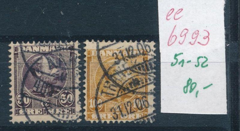 DK. Nr. 51-52  o    (ee6993  ) siehe scan 0