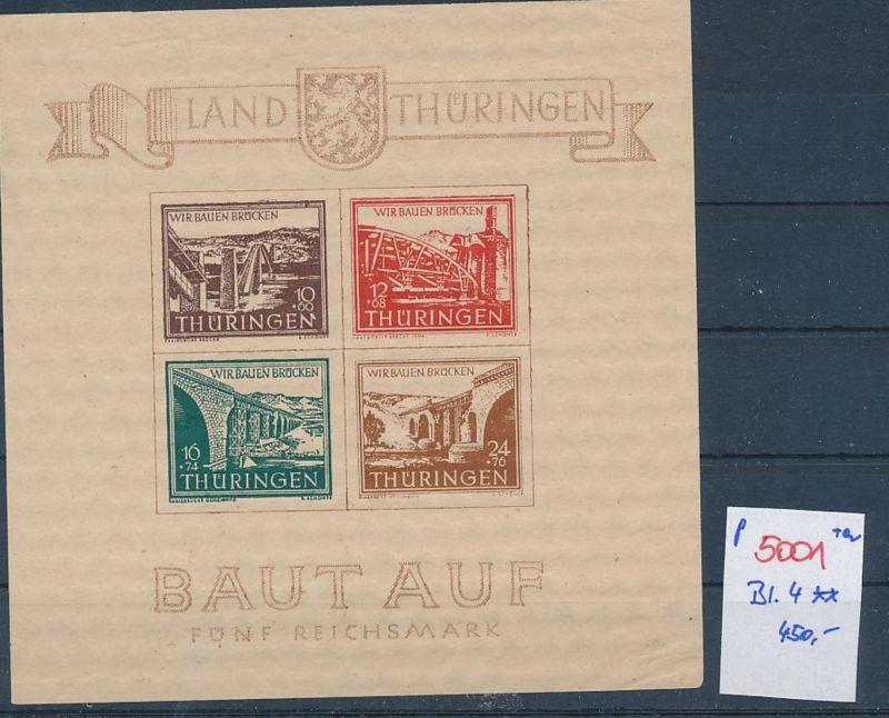 D.-Reich Nr. 4  **  kl.Eckbug     (p5001  ) siehe scan
