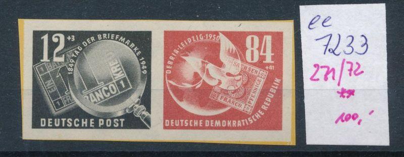 DDR Nr. 271-72 Block Marken   **     (ee7233  ) siehe scan 0