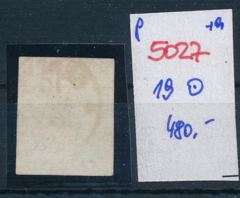 Schweiz nr.  19  o    (p5027  ) siehe scan 1