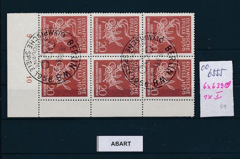 DDR  Nr. 639 PLF. o   (oo6555  ) siehe scan