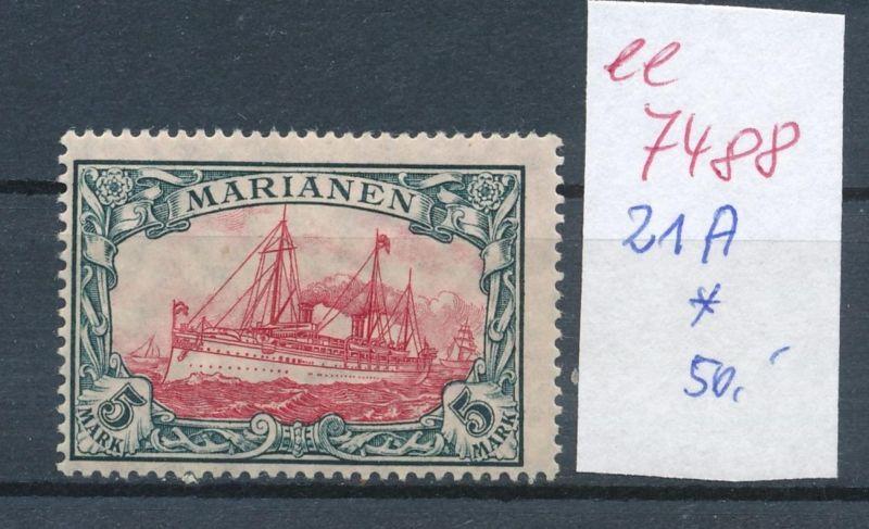 Marianen  Nr.  21 A   *     (ee7488  ) siehe scan