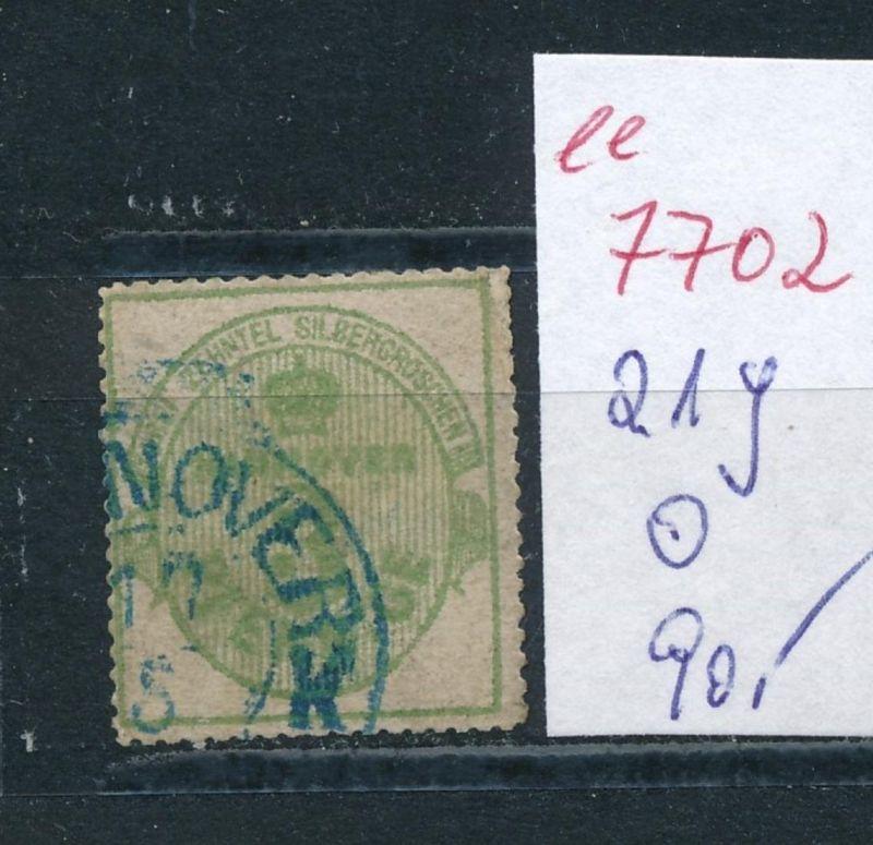Hannover Nr.   21y   o    (ee7702  ) siehe scan