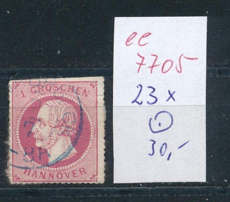 Hannover Nr.   23l   o    (ee7705  ) siehe scan