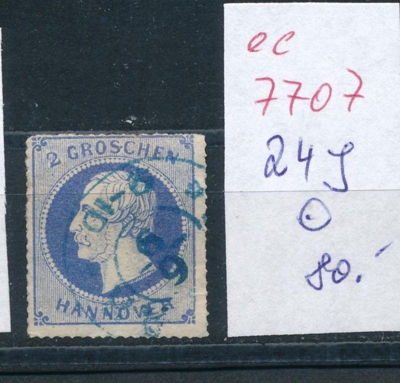 Hannover Nr.   24 y   o    (ee7707 )     siehe scan