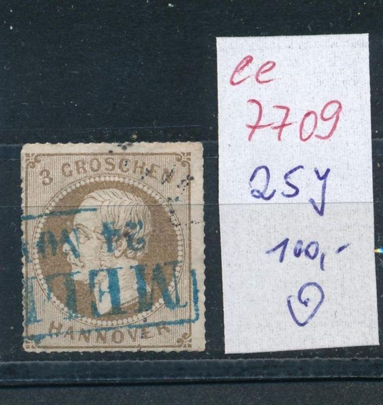 Hannover Nr.   25  y   o    (ee7709   )     siehe scan