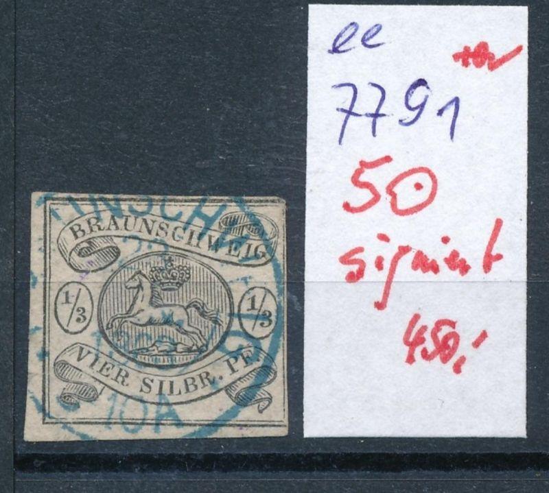 Braunschweig Nr. 5  o signiert     (ee7791  ) siehe scan vergrößert  !