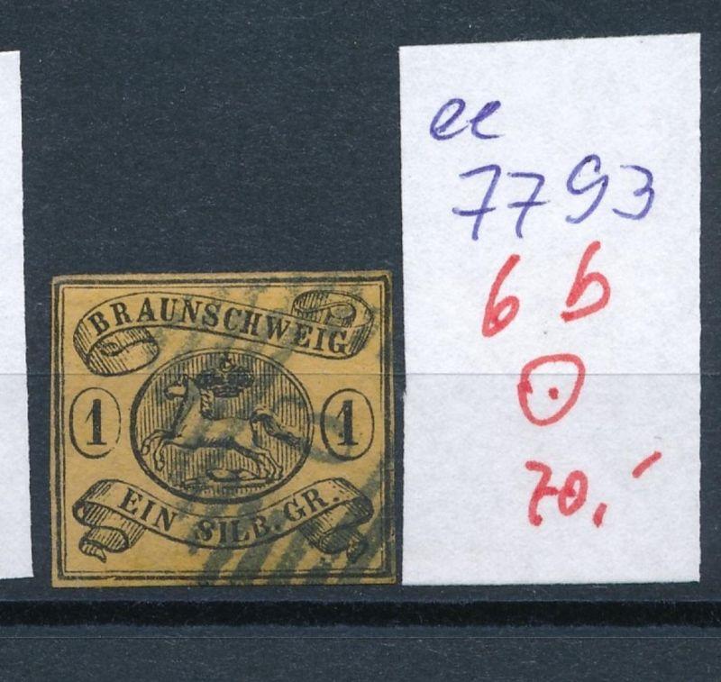 Braunschweig Nr.  6 b     (ee7793  ) siehe scan vergrößert  !