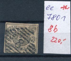Braunschweig Nr.  8 b  o     (ee7801  ) siehe scan vergrößert  !