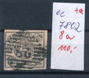 Braunschweig Nr.  8 a  o     (ee7802  ) siehe scan vergrößert  !