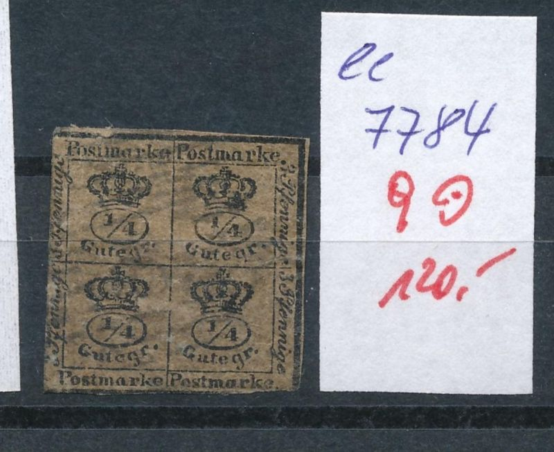 Braunschweig Nr.  9   o     (ee7784  ) siehe scan vergrößert  !