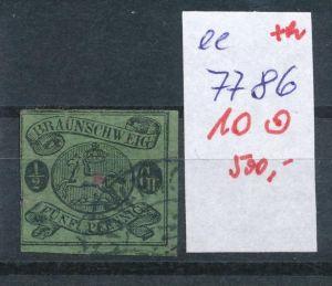 Braunschweig Nr.  10   o     (ee7786  ) siehe scan vergrößert  !