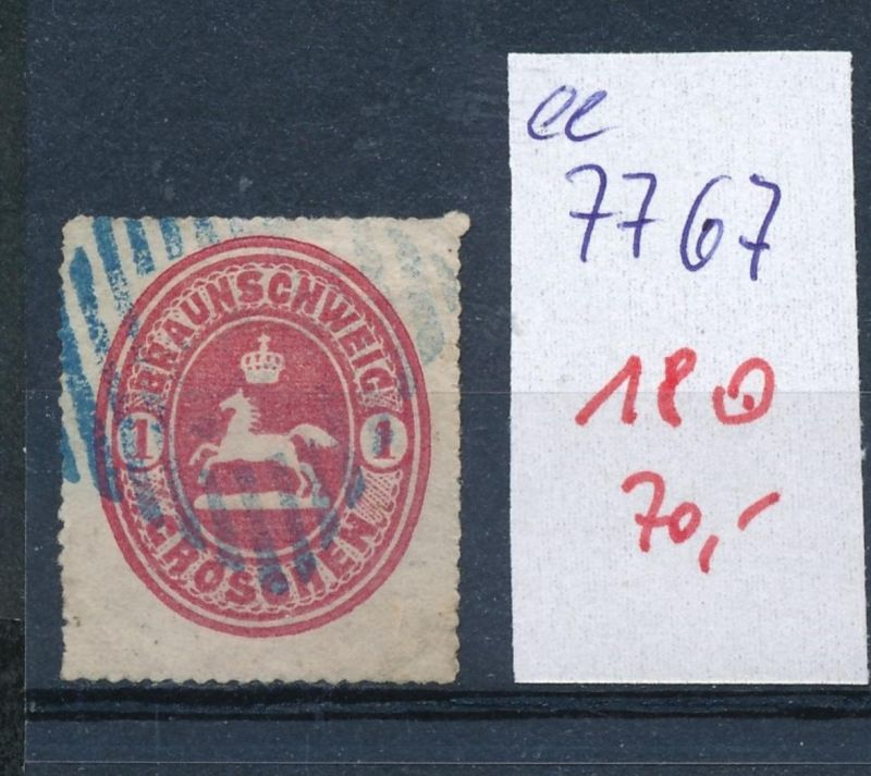Braunschweig Nr. 18  o     (ee7767  ) siehe scan vergrößert !