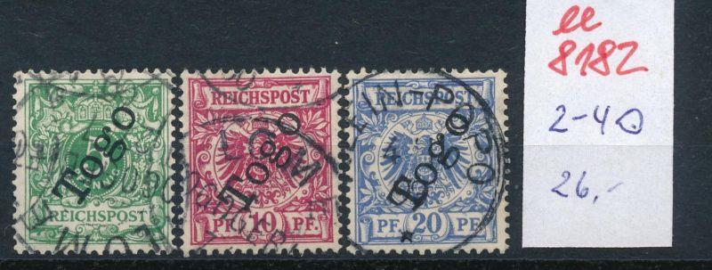 Togo Nr.  2-4  o     (ee8182  ) siehe scan