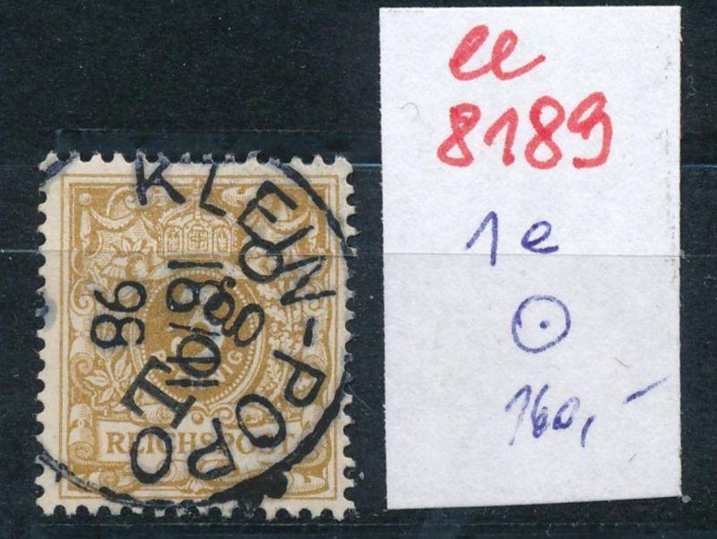Togo Nr.  1 e  o     (ee8189  ) siehe scan