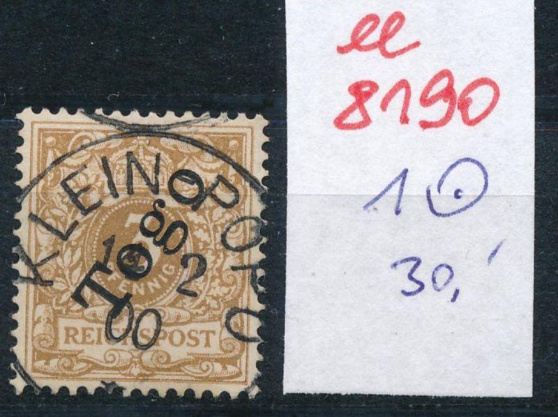 Togo Nr.  1   o     (ee8190  ) siehe scan