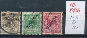 Samoa Nr.  1-3   o      (ee8196  ) siehe scan