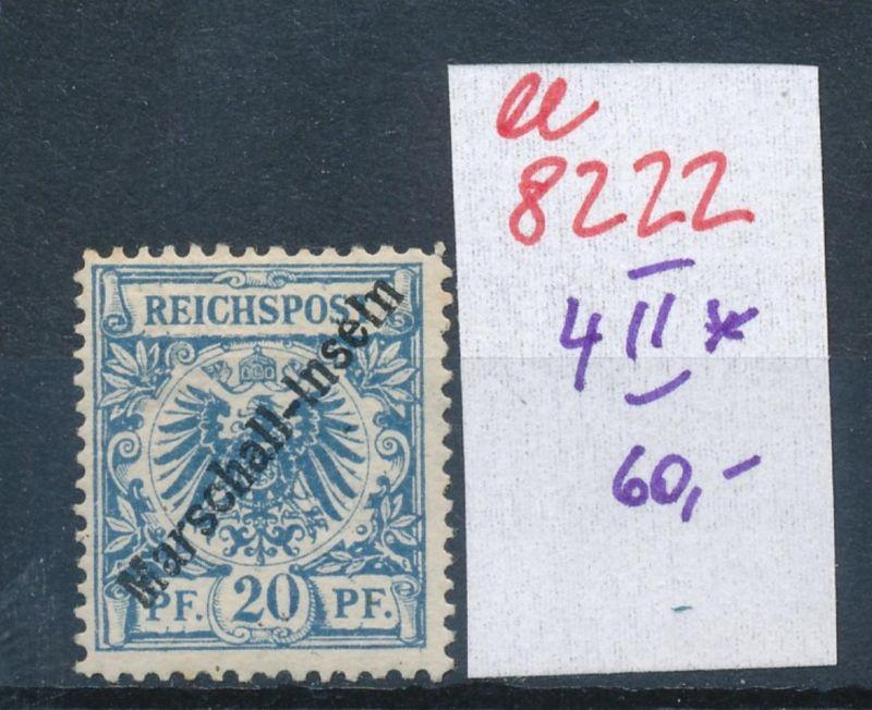 Marshall Inseln Nr. 4 II  *    (ee8222  ) siehe scan