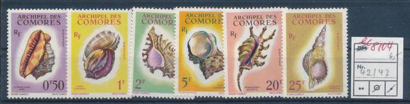 Muscheln  - Komoren   ** Serie    (ee8104  ) siehe scan
