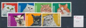 Katzen  -Nicaragua     ** Serie    (ee8111  ) siehe scan