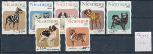 Hunde  -Nicaragua     ** Serie    (ee8112  ) siehe scan
