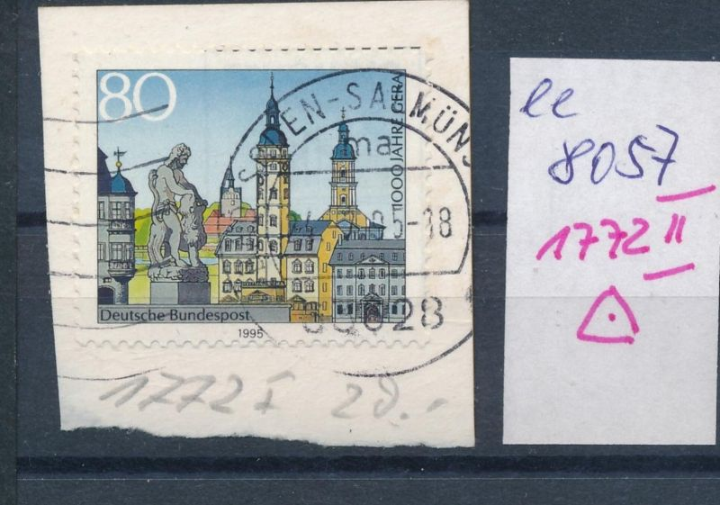 BRD Nr. 1772 II   o PLF    (ee8057  ) siehe scan