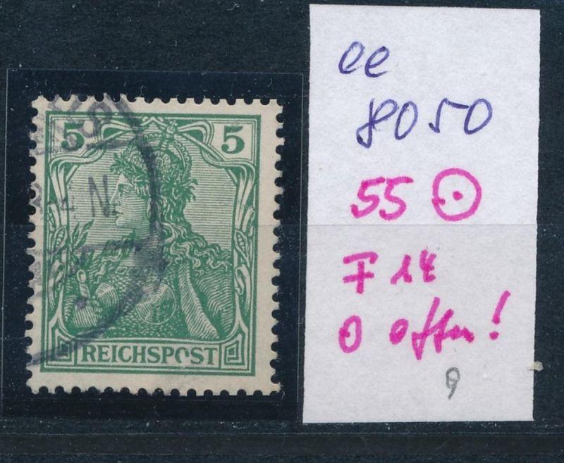 D.Reich Nr.  55   PLF   o (ee8050  ) siehe scan