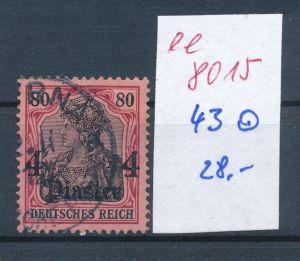 D.Post Türkei   -Nr. 43 o     (ee8015  ) siehe scan