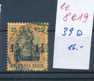 D.Post Türkei   -Nr. 39  o     (ee8019  ) siehe scan