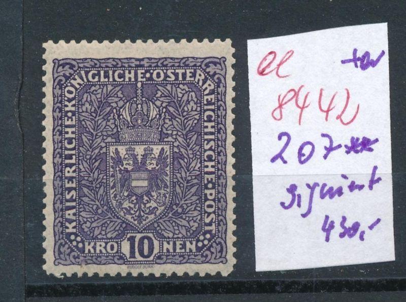 Österreich Nr.  207   **    (ee8442  ) siehe scan