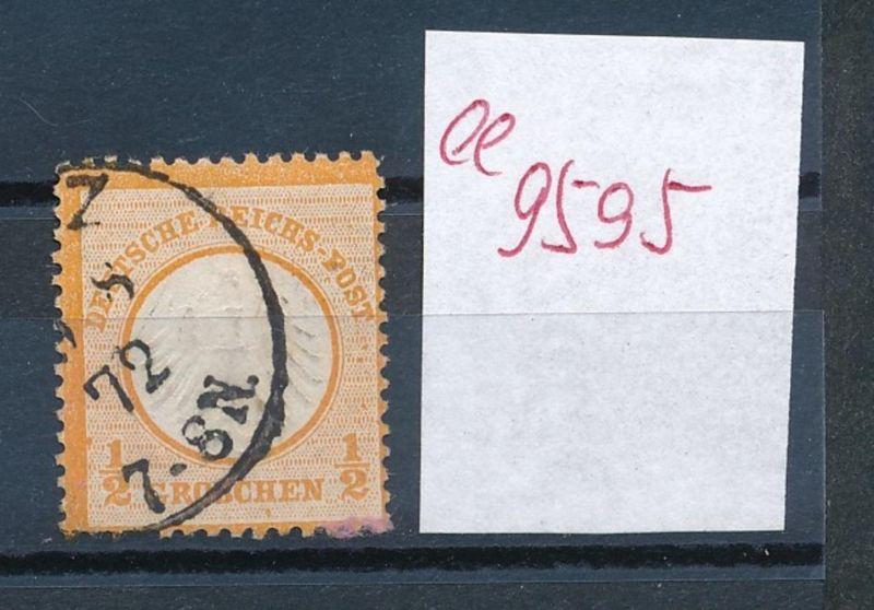 D.-Reich Nr. 14   o   (ee9595   ) siehe scan vergrößert !