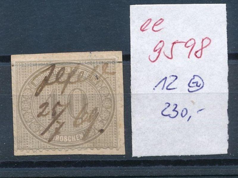 D.-Reich Nr. 12   o   (ee9598   ) siehe scan vergrößert !