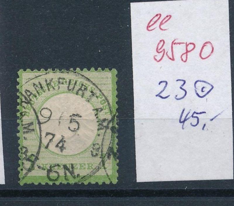 D.-Reich Nr. 23  o   (ee9580   ) siehe scan vergrößert !