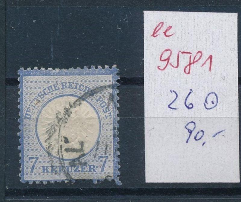 D.-Reich Nr. 26  o   (ee9581   ) siehe scan vergrößert !