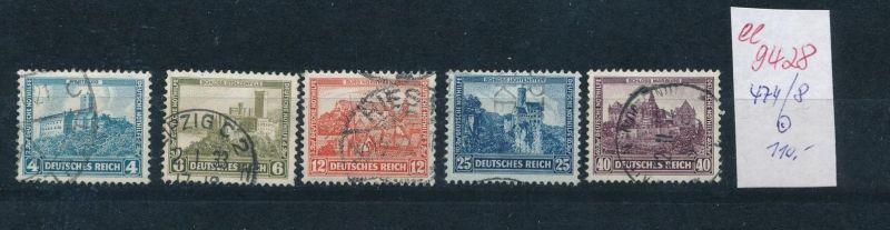 D.-Reich Nr. 474-8   (ee9428   ) siehe scan vergrößert !