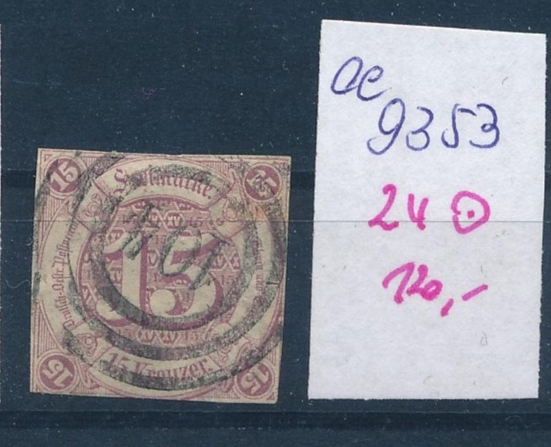 Thurn&Taxis  Nr. 24  o   (ee9353  ) siehe scan