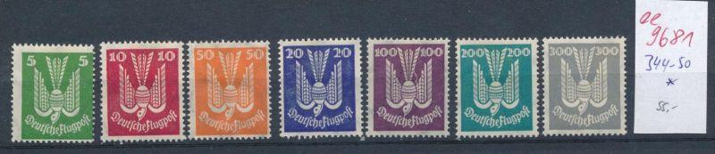 D.-Reich Nr. 344-50   *    (ee9681  ) siehe scan