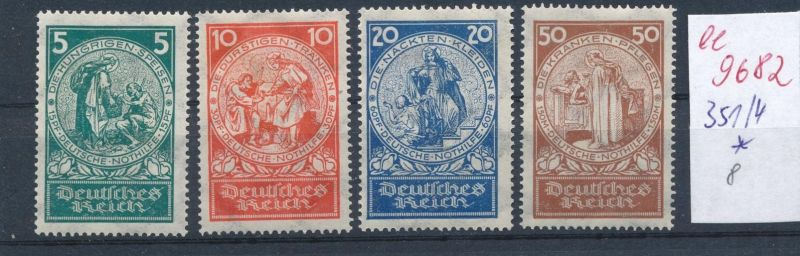 D.-Reich Nr. 351-4    *    (ee9682  ) siehe scan