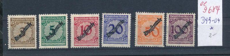 D.-Reich Nr. D99-104     *    (ee9684  ) siehe scan