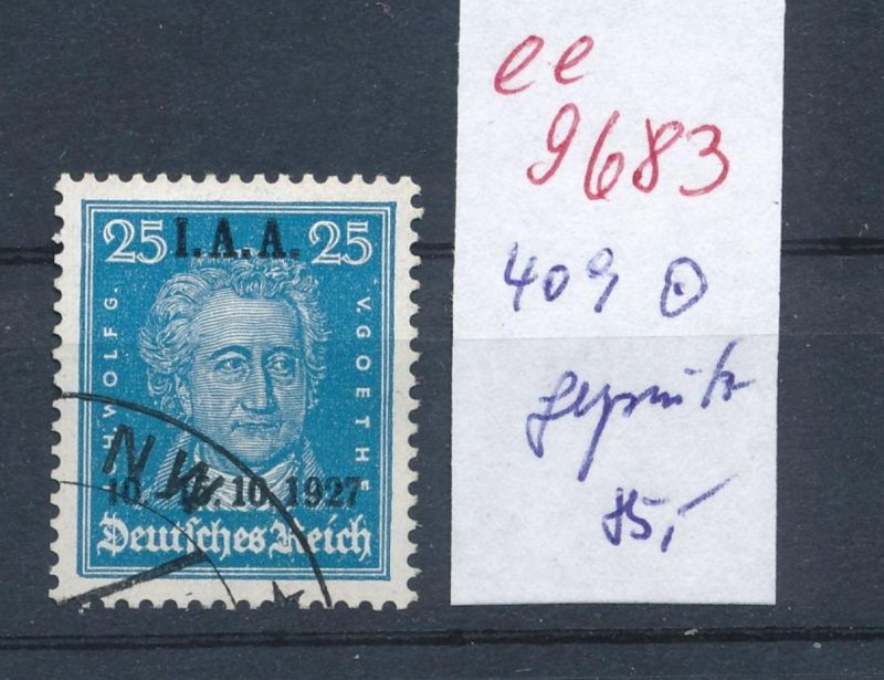 D.-Reich Nr. 409  o signiert    (ee9683  ) siehe scan