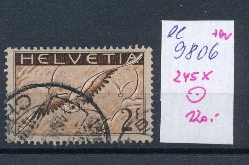 Schweiz  Nr.  245 x o  (ee9806  ) siehe scan