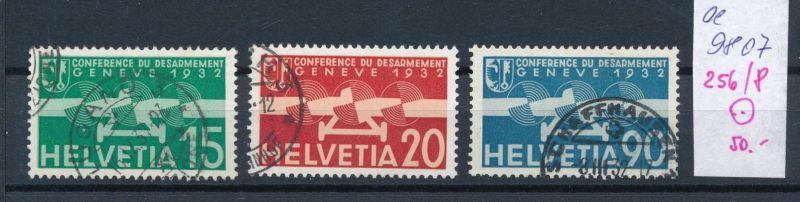 Schweiz  Nr.  256-8  o  (ee9807  ) siehe scan