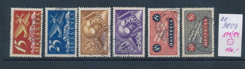Schweiz  Nr.  179-84   o  (ee9809  ) siehe scan